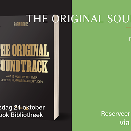 Film Fest Gent Talkies: The Original Soundtrack - Robin Broos